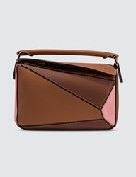 Loewe Puzzle Small Bag Brown