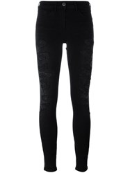 3X1 'Stretch W2 Split Seam Bell' Jeans Black