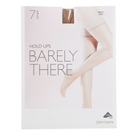 John Lewis 7 Denier Barely There Hold Ups Pack Of 1 Nude