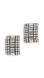 Elizabeth Cole Karen Earrings Crystal