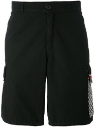Amen Pocket Detail Shorts Men Cotton Metal 46 Black
