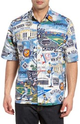 Reyn Spooner New York Yankees Classic Fit Camp Shirt Scenic