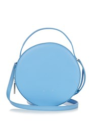 Pb Ab38 Leather Cross Body Bag Light Blue
