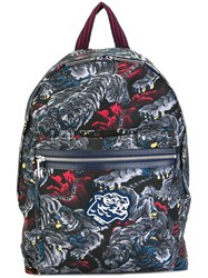Kenzo 'Flying Tiger' Backpack Multicolour