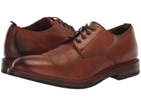 Frye Murray Oxford Cognac Washed Dip Dye Leather Shoes Brown