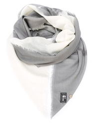 Lost And Found Skeleton Print Scarf Nude And Neutrals