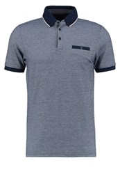 Burton Menswear London Polo Shirt Navy Dark Blue