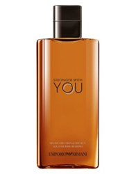 Emporio Armani Stronger With You Mens All Over Shower Gel 6.7 Oz No Color