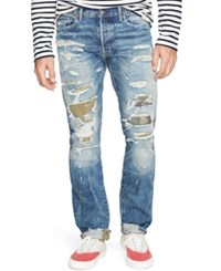 Denim And Supply Ralph Lauren Slim Fit Caden Jeans Blue