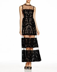 Nanette Lepore Viennese Gown Black