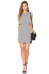 Eight Sixty Knit Cutout Dress Black And White