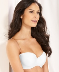 Lilyette Defining Moments Strapless Bra 929 White