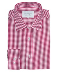 Paradigm By Double Two Formal Shirt Red