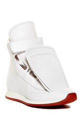 Vivienne Westwood 3 Tongue Trainer Sneaker White