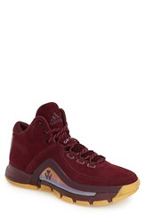 Men's Adidas 'J Wall 2.0' Basketball Shoe Maroon Bold Pink Gum
