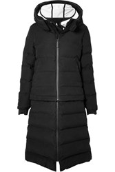 Templa 3L Verba Convertible Hooded Quilted Down Ski Coat Black