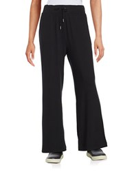 Bench Knit Drawstring Pants Jet Black