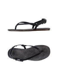 Lanvin Footwear Thong Sandals Men