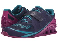 Inov 8 Fastlift 325 Navy Purple Teal Women's Running Shoes Blue