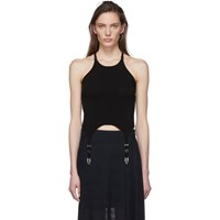 Dion Lee Black Garter Tank Top