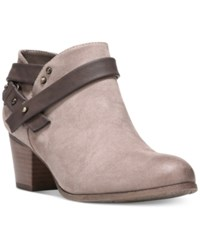 Fergalicious Ghandi Ankle Booties Women's Shoes Grey