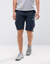 Loyalty And Faith Cargo Shorts Navy