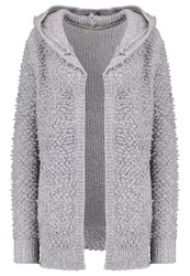 Twintip Cardigan Mid Grey Melange Mottled Grey