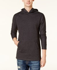 American Rag Men's French Terry Hoodie Created For Macy's Deep Black