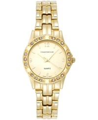 Charter Club Women's Gold Tone Stainless Steel Bracelet Watch 31Mm 16859 Only At Macy's
