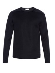 Balenciaga Double Faced Cotton Blend Sweatshirt