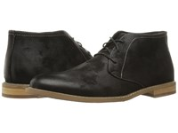 Deer Stags Seattle Black Coated Canvas Shoes