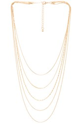 8 Other Reasons Bella Necklace Metallic Gold