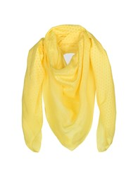 Dsquared2 Square Scarves Yellow