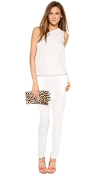 Ramy Brook Lulu One Shoulder Jumpsuit Ivory