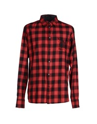 Roberto Cavalli Shirts Shirts Men Red
