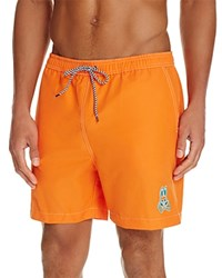 Psycho Bunny Solid Swim Trunks Kumquat