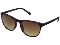 Spy Optic Cameo Soft Matte Purple Tort Happy Bronze Fade Athletic Performance Sport Sunglasses Black