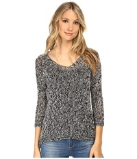 Tart Posey Sweater Black White Women's Sweater