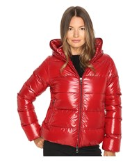 Duvetica Thiacinque Quilted Down Jacket Rosso Gran Women's Coat Red