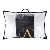 A By Amara European Goose Down Pillow Soft Medium