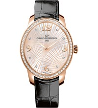 Girard Perregaux 80493D52a763 Ck6a Cat's Eye Alligator Leather Sapphire