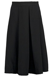 Louche Hasina Pleated Skirt Black