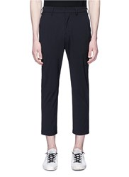 Attachment Cropped Pants Black
