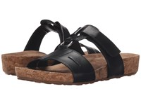 Walking Cradles Penny Black Soft Antanado Cork Wrap Women's Sandals