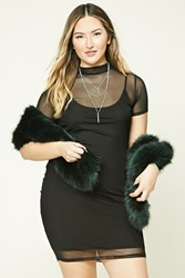 Forever 21 Plus Size Mesh Knit Dress