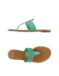 Aerin Thong Sandals Light Green