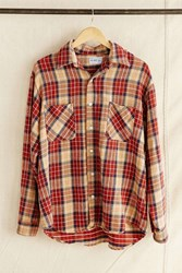 Urban Renewal Vintage Big Mac Brown Plaid Flannel Shirt Assorted