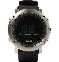 Suunto Core Brushed Steel Digital Watch Silver