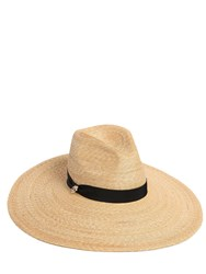 Dsquared Woven Straw Hat W Wide Brim