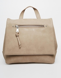 Fiorelli Petra Backpack With Zip Detail Lightgrey